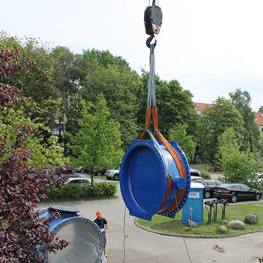 EUROSTOP - Wasseraufbereitungsanlage in Vandoeuvre