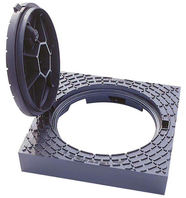 Schachtabdeckung PAMREX 600 - mit Pflasterrahmen