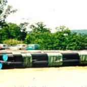 Baustelle Weißkeisel / Duktile Gußrohre mit PE-Umhüllung
