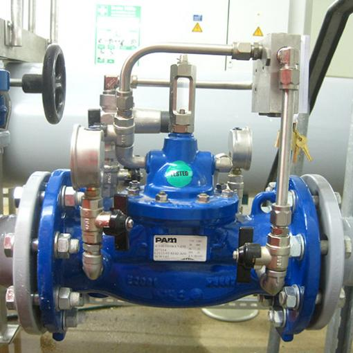 E2115-03 Erhaltung eines konstanten Ausgangsdrucks mit integrierter Rückflussverhinderung