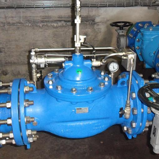 E2114-02  Durchflussregelung mit elektrischer Stellungsrückmeldung