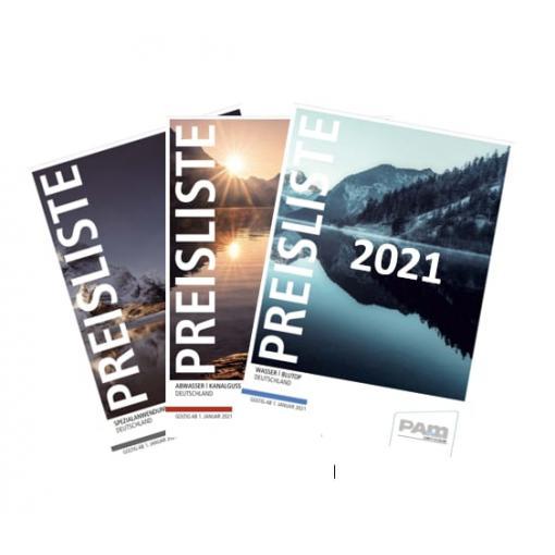 neuen Preislisten 2021