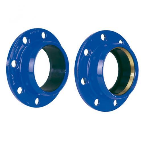 Sparflansch QUICK Typ PVC / PVC-LKS