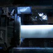 Prüfen der Gussrohre/ ZM-Auskleidung