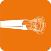 Zinküberzug und Bitumen Deckbeschichtung / STANDARD
